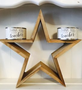 teacher gifts cuckoos wooden star.JPG