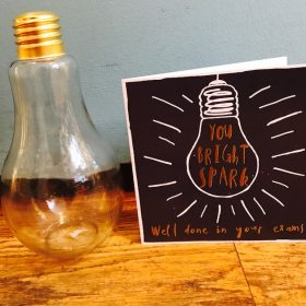 Cuckoos Nest Gifts Exam success gifts Bulb card