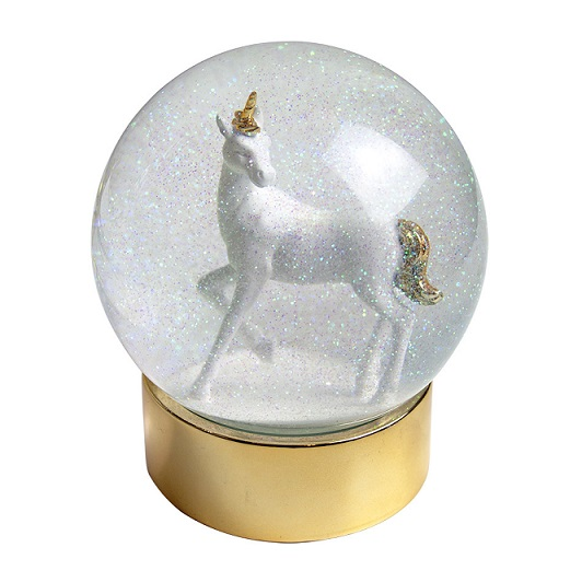 Cuckoos Nest Gifts Stocking Fillers Christmas Llaneilo Carmarthenshire Unicorn Snowglobe